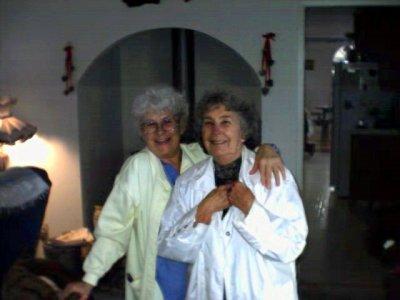 grandma & aunt reba